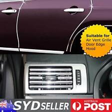 Auto Cars Chrome Mouldings Trim U Style Door Edge Guards Protector 18ft (5.5M)