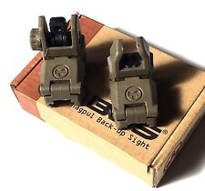 Magpul MBUS PTS Flip-Up Fold Down Back-Up Sights Gen 1 - DE TAN
