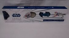 Star Wars Cookie Cutters Press-And-Stamp Cutters Set of 4 NEW! Williams Sonoma