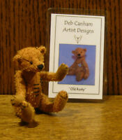 DEB CANHAM Artist Designs OLD RUSTY, Various Bears Collection, From Retail Store