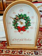 Howard Miller Clock Carols of Christmas II Brand New in box -Plays Hourly Carols