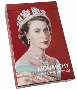Family Card Game  Monarchy, Fun Home Education History Cards, Queen Elizabeth II