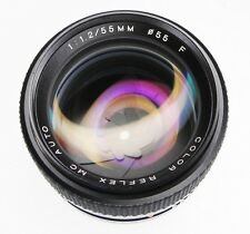Porst 55mm f1.2 Color Reflex MC Auto Pentax K mount    #91600396