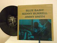 "Kenny Burrell,Jimmy Smith,Verve,""Blue Bash"",US,LP,stereo,1963 jazz instrument,M-"