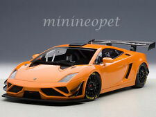 1/18 Autoart Lamborghini Gallardo GT3 FL2 2013 ORANGE -Action : vitrine GRATUIT