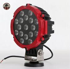 TETTO LUCE FARETTO LAMPADA LED 60 W 4000 LM Rosso 4x4 12 V 24 V UK Fornitore
