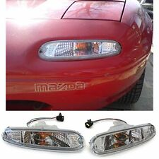 PAIR OF CLEAR INDICATORS LIGHTS FOR MAZDA MX5 NA 05/1990 - 04/1998 V2