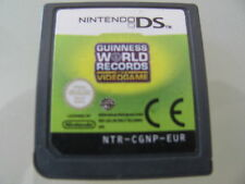 JEU NINTENDO DS @@ DS LITE DSI XL 3DS @@ GUINNESS WORLD RECORDS @@ LOOSE