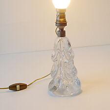 Lampe ancienne en cristal jacque adnet art deco 1930 bauhaus années 30 40