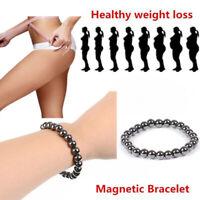 Gewichtsverlust Magnetisches Armband Stretch-Armband Schwarz Akupressur