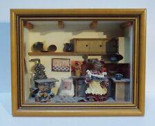 Boyd Bears Shadowbox Sweetie Pie's Cookin' Kitchen with original packaging
