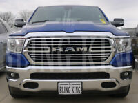 2019-2021 Dodge Ram chrome grille insert grill overlay trim