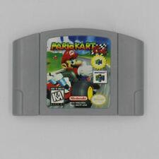 For Nintendo N64 Game Mario Kart 64 Video Game Cartridge Console Card US Version