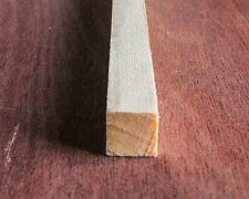 "5LENGTHS Planed Timber 20mm x 20mm Length 1.2m,4feet PINE PSE MOULDING 3/4""X3/4"""