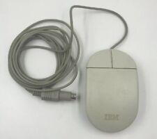 Vintage IBM 33G5430 PS/2 Desktop Laptop Computer PC 2 Button Roller Ball Mouse