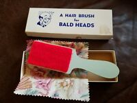 Vintage 1938 Gag Gift - A Hair Brush for Bald Heads H. Fishlove & Co. No. 871