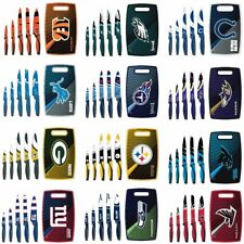 Officially Licensed NFL Knives & Cutting Board Set 630809-J