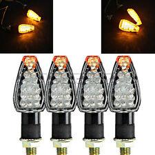 4x LED Amber Turn Signals For Honda VTX 1300 1800 TYPE C R S N F T RETRO