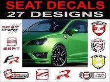 Seat Ibiza Leon Toledo Cupra Altea FR R SPORT decals autocollants 2 hors