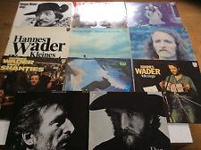 Hannes Wader [11x Vinyl LP] Plattdeutsche Lieder Nie Mehr zurück Singt 7 Lieder