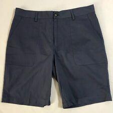 Michael Kors Mens Washed Navy Blue Shorts Size 34 EUC