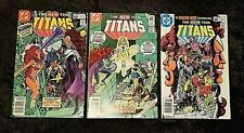 New listing The New Teen Titans #23 - 24 (lot of 3) (1982) Vf+ Dc Key Issue 1st Blackfire 🔑