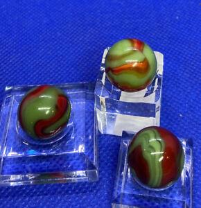 Three Peltier Rainbo Green and Red