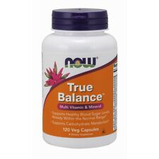 Now Foods True Balance - 120 Veg Capsules FRESH, FREE SHIPPING, MADE IN USA