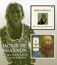 Jackie De Shannon Don't Turn Your Back On Me/This Is 2on1 CD NEW SEALED