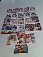 *****Dexter McCluster*****  Lot of 24 cards.....10 DIFFERENT / Football
