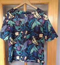 Polyester Floral Tops & Shirts Size Tall for Women