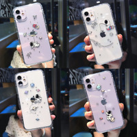 Cute Creative Astronaut Clear Case Cover For iPhone 11 12 Pro Max XS XR 7 8 Plus