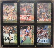 Afl 1994 Series SELECT SIX OF THE BEST Set EXCELLENT CONDITION Ultra Pro Promo