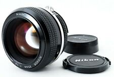 *Near Mint* Nikon New Nikkor Ai converted 55mm f1.2 MF Prime Portrait Lens Japan