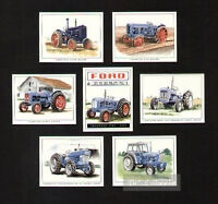 Fordson Tractors 5000 6Y Roadless Ploughmaster 65 E27M E1A New Major Trade Cards