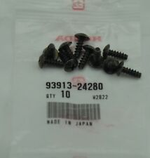 New Genuine OEM 1994-2001 Acura Integra/Legend 10-Pack Screws(4x12) 93913-24280