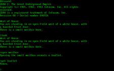 Three (3) Kaypro CP/M DSDD Game Diskettes (Zork 1,2,3)