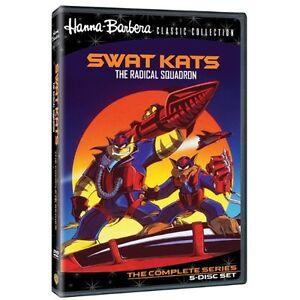 SWAT KATS: THE RADICAL SQUADRON (5 disc set)  Region Free DVD - Sealed