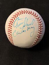 Carlos May Autographed Romlb Baseball 1977 Ws Champs Sports Mem, Cards & Fan Shop Baseball-mlb