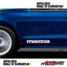 2 x Mazda Aufkleber 30 x 5 cm  Aufkleber Autoaufkleber Auto Tuning Sticker Aufkl