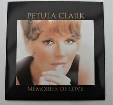 "Petula Clark rare single track CD of ""Memories Of Love"""