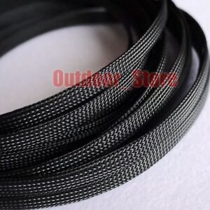 8mm Braided Tubing Expandable Sleeving Cable Wire Sheathing Braided Loom Tubing