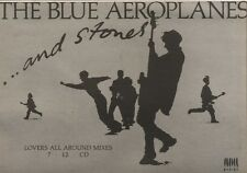 19/5/90Pgn29 Advert: The Blue Aeroplanes ...and Stones Single Out Now 7x11