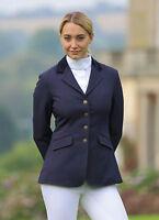 Shires Ladies Aston Show Riding Jacket All Sizes Navy, Black, Womens