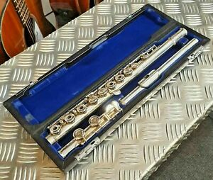 Muramatsu EX Model French Style Open Cup Flute with Handcut Silver Headjoint
