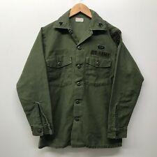 "Vintage OG107 / Fatigue Shirt, Size 14 1/2"" x 31"", US Army 1960'S  G-60"