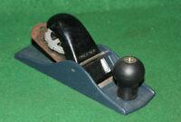 Clean & Ready Antique Vintage Carpenters Woodworking Block Bench Plane INV#HB88