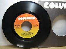 Old 45 RPM Record - Columbia 11-11418 - Willie Nelson - Angel Flying Too Close