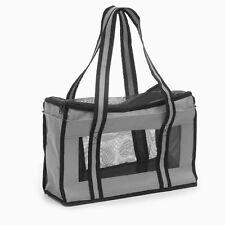 Accessoires animaux : sac / cage de transport pour petit chien ou chat - gris