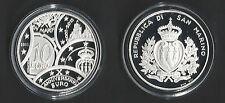 2011 San Marino € 10,00 in argento X anniversario dell'Euro FS